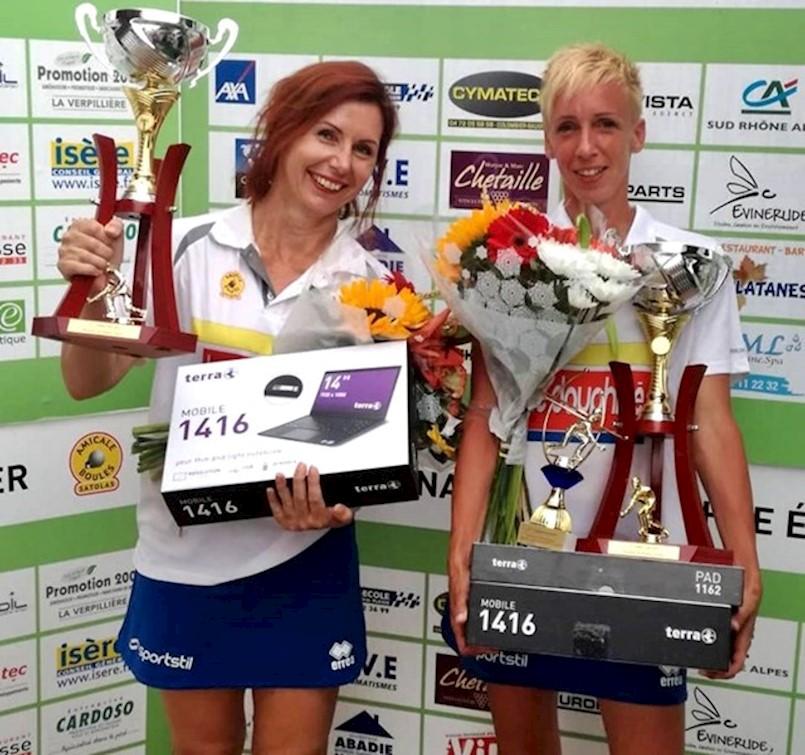 """Nives Jelovica i Tanja Grubiša osvojile veliki međunarodni turnir """"Trofej Emile Terrier"""" u Francuskoj"""