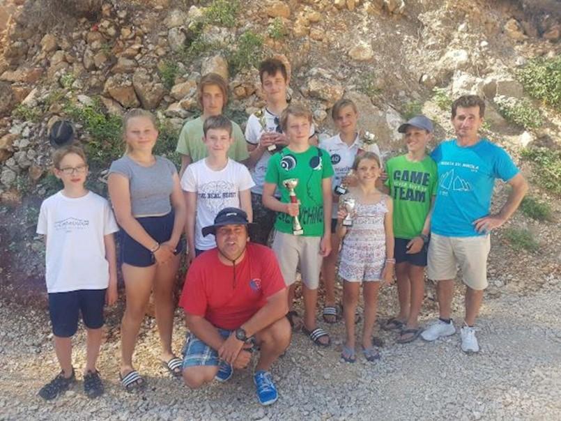 Proteklog vikenda rabački jedriličari sudjelovali su na Krčkoj regati