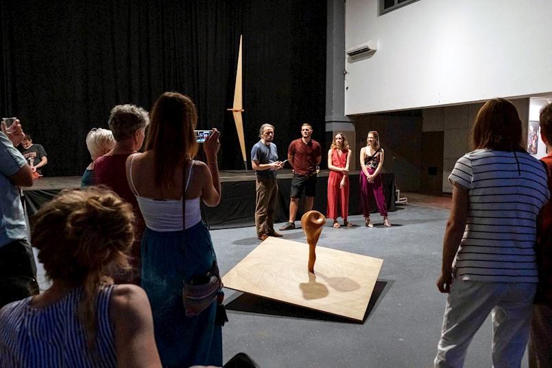 U DKC Lamparna otvorena nova tripartitna izložba mladih umjetnika
