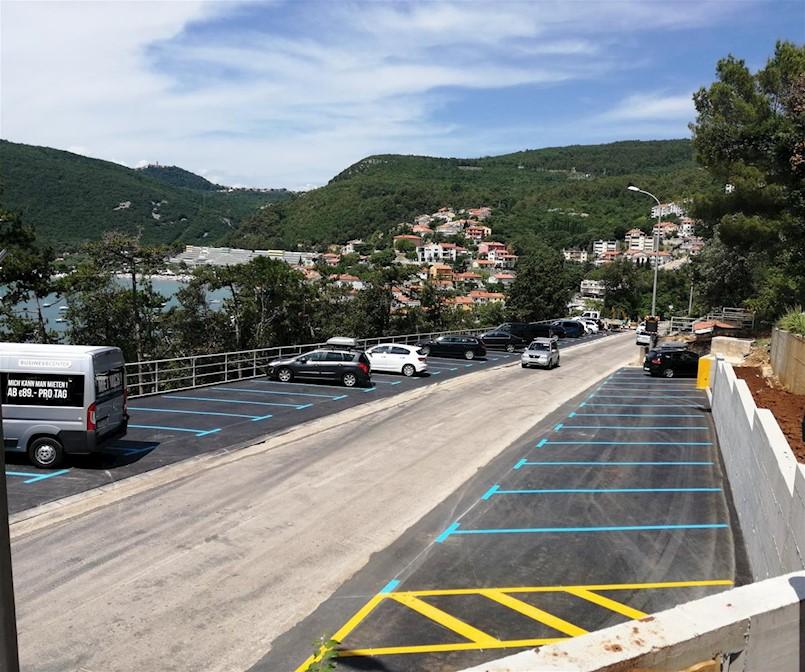 Gotovi radovi na izgradnji novih 47 parkirnih mjesta u Rapcu