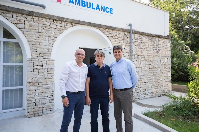 Valamar i tvrtka Medicus otvorili novu turističku ambulantu u Rapcu