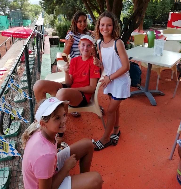 Lucija Zupičić i par Hrvatin/Zupičić ostvarile najbolje rezultate na regionalnom teniskom prvenstvu Istre i Primorja do 14 godina