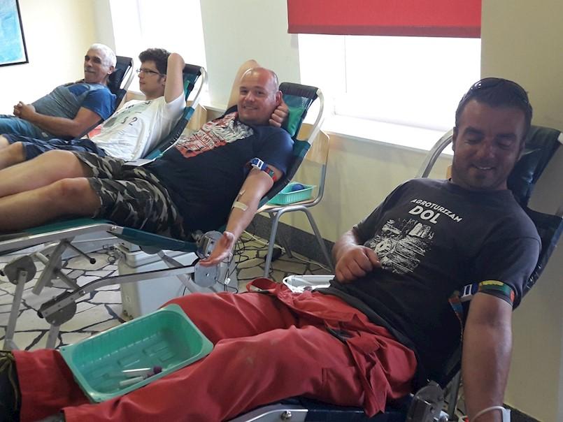 Odličan odaziv akciji darivanja krvi