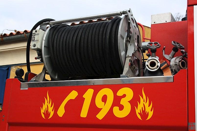 Izbio požar na radnom stroju