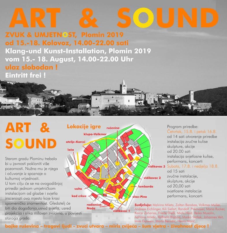 Manifestacija Art & Sound od 15. do 18. kolovoza u Plominu