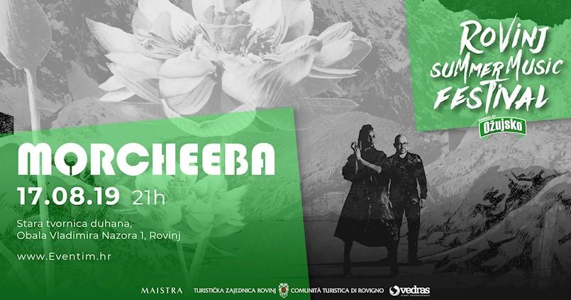 Morcheeba @ Rovinj Summer Music Festival [17/08/2019]