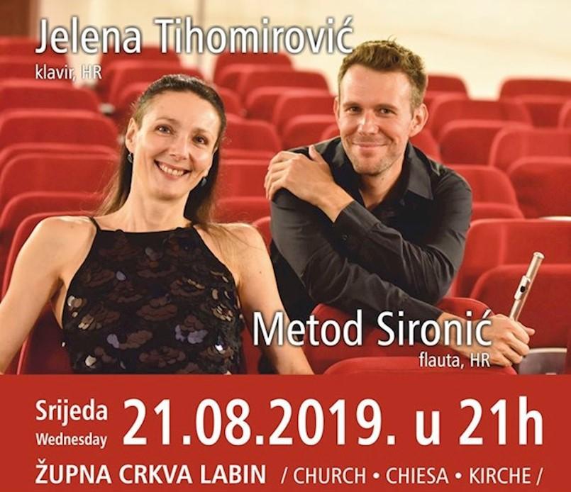 Na Klasičnom ljetu koncert Jelene Tihomirović i Metoda Sironića