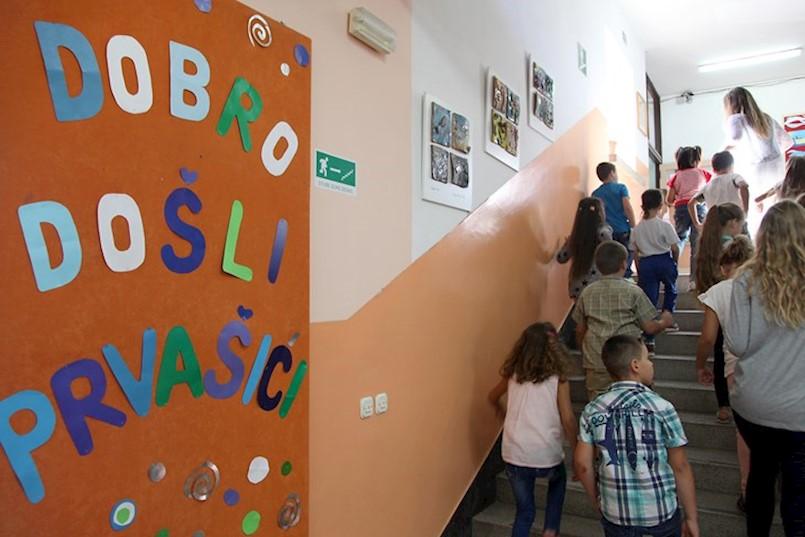 Na Labinštini u prvi razred osnovne škole kreće 8 prvašića više nego lani