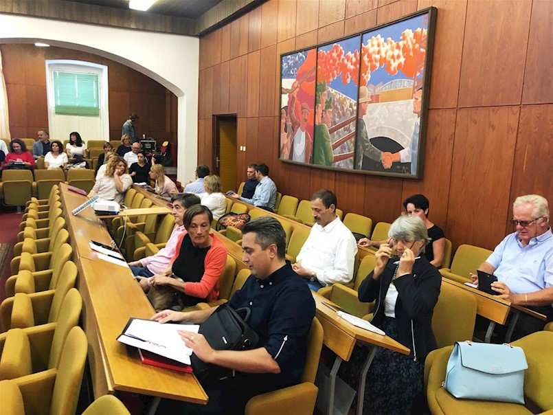Izvješće sa 26. redovne sjednice Gradskog vijeća Grada Labina