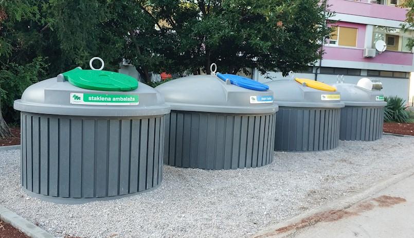 """Polupodzemni kontejneri postavljaju se u """"Novim zgradama"""""""