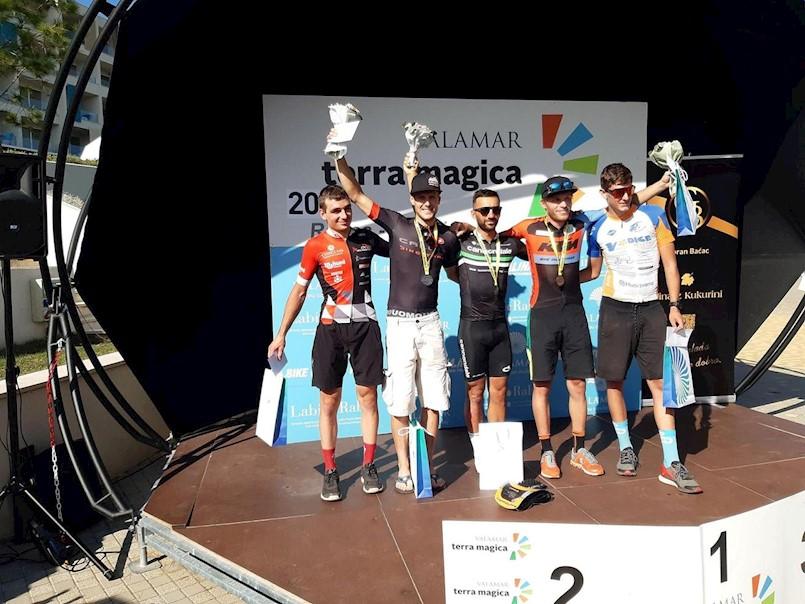 Manuel Fumić pobjednik MTB utrke Valamar Terra Magica