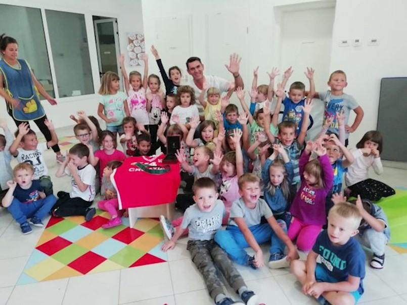 Područni odjel dječjeg vrtića u Vrećarima ugostio zlatnog olimpijca