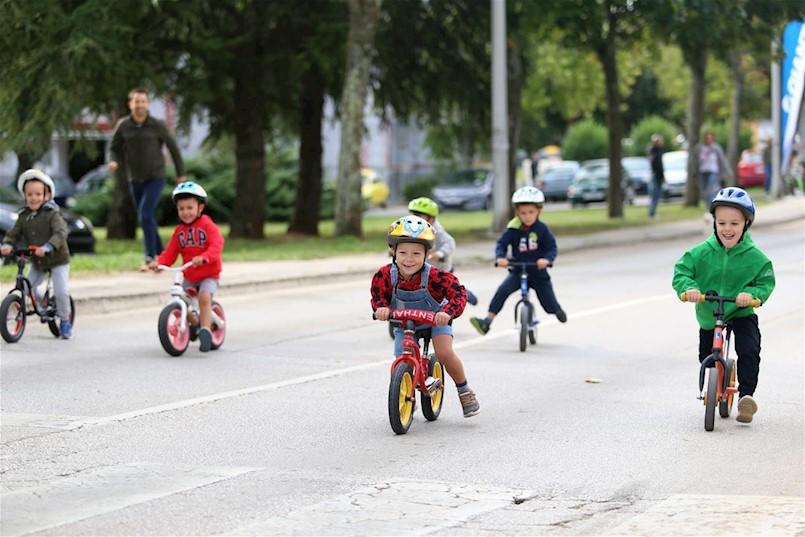 Održana dječja biciklijada