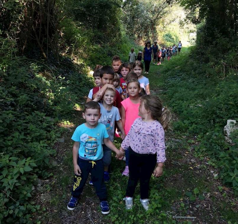Europski tjedan mobilnosti obilježen i u Dječjem vrtiću Kockica Kršan