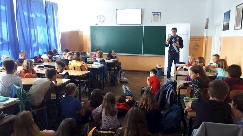 Započele prve radionice za djecu u sklopu projekta Zelene navike za održivu Labinštinu