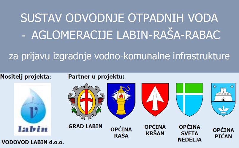 Javna prezentacija projekta Aglomeracije Labin-Raša-Rabac