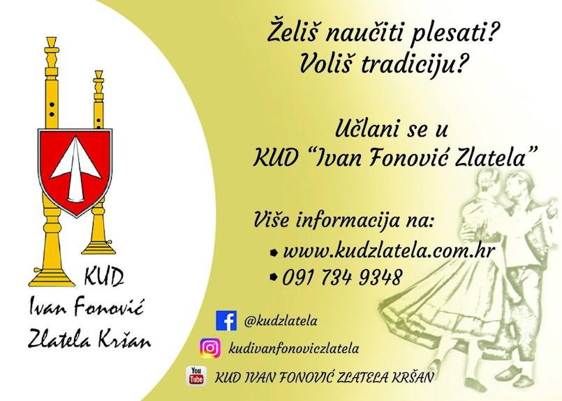 Upisi u KUD Ivan Fonović Zlatela Kršan