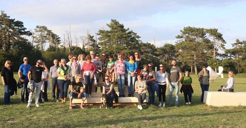 Edukativna šetnja kroz Park skulptura Dubrova