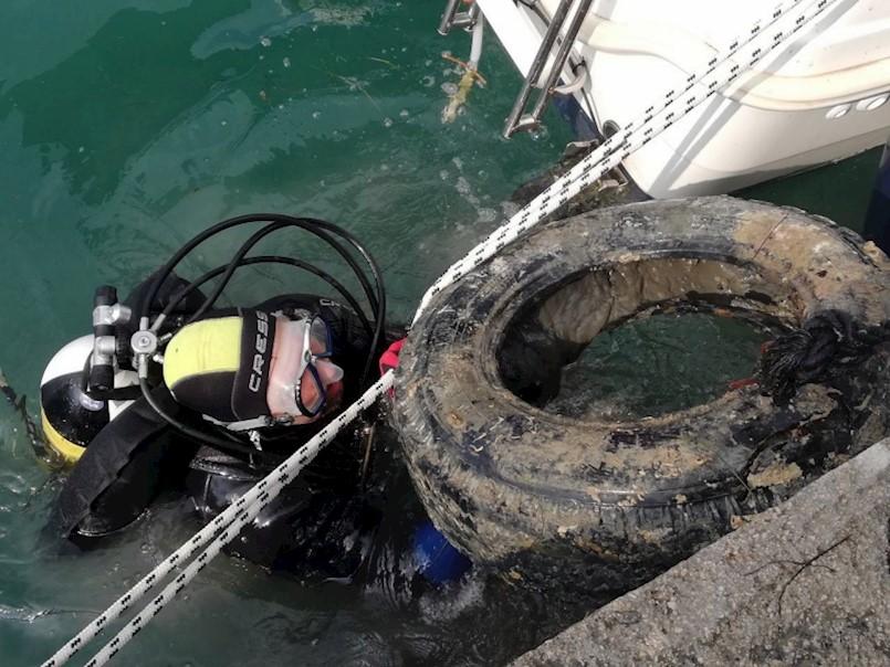 Očišćeno podmorje u Tunarici