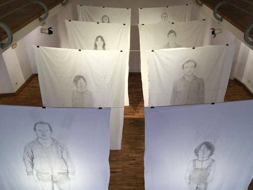 """Otvorena izložba """"Bićanići"""" u Gradskoj galeriji Labin"""