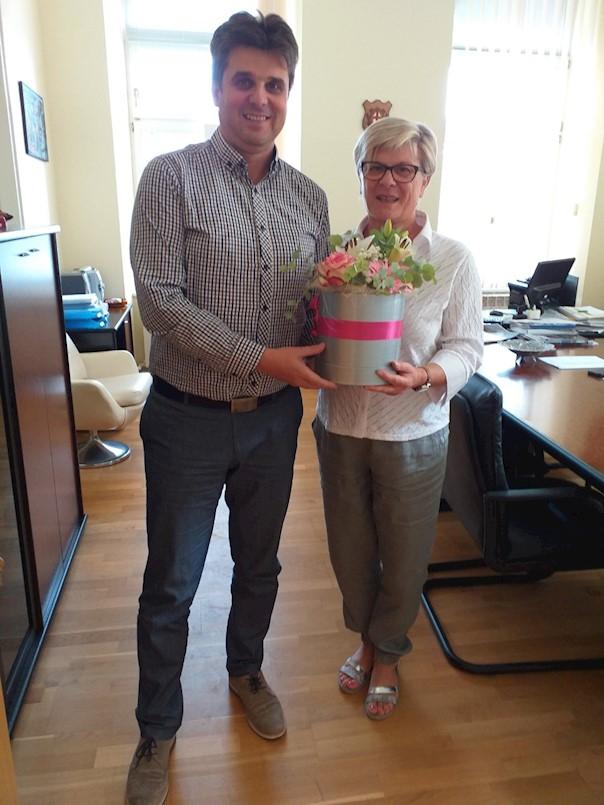 Prijem za Irene Smoković povodom njezina umirovljenja