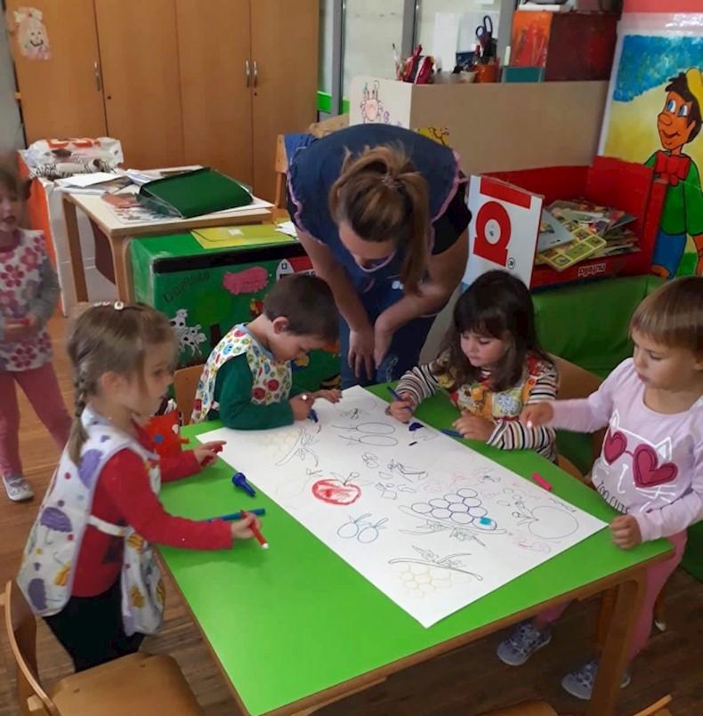 U Dječjem vrtiću Mali medvjedić u Pićnu održan zdravstveni program ''Vitamini u jesen''