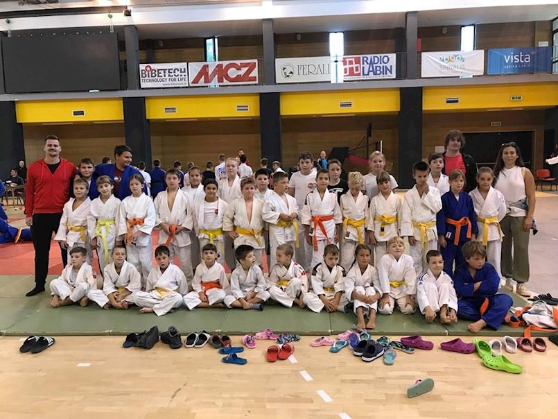 Judo klubu METO Labin na trećem kolu Međužupanijske lige 22 medalje