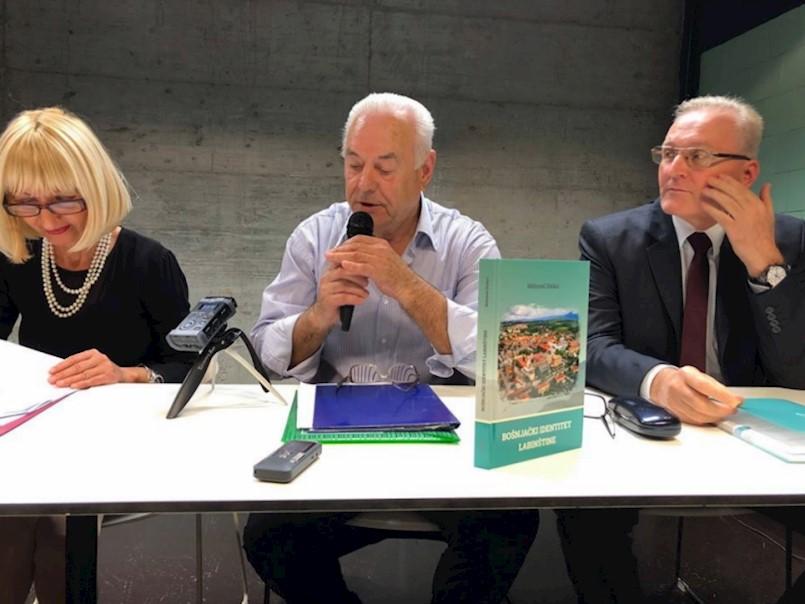 Promocija drugog dopunjenog izdanja knjige ''Bošnjački identitet Labinštine'' Mehmeda Džekića