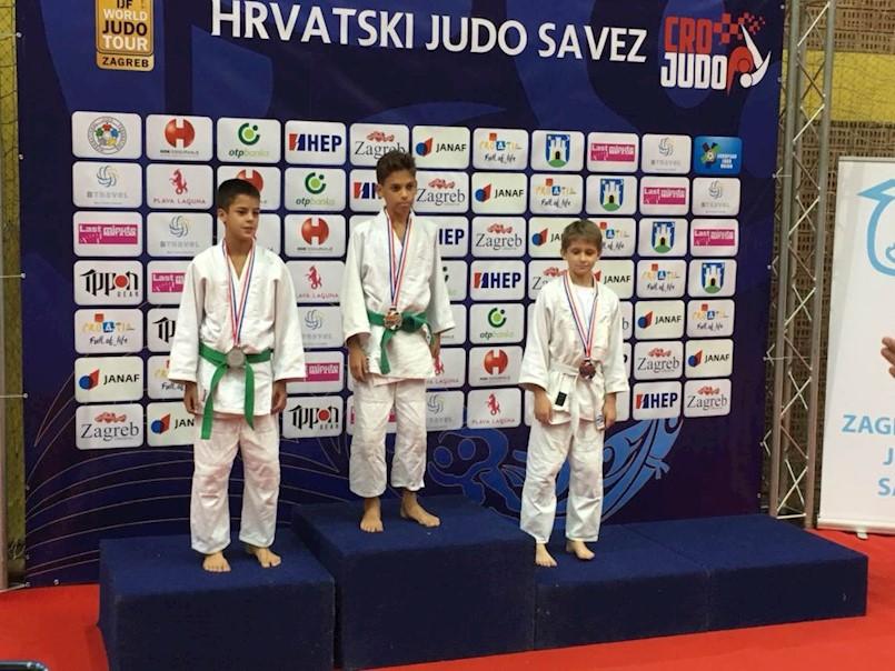 Matija Sinožić (JK Ippon Labin) osvojio zlato u svojoj kategoriji na Prvensvtu Hrvatske u judu