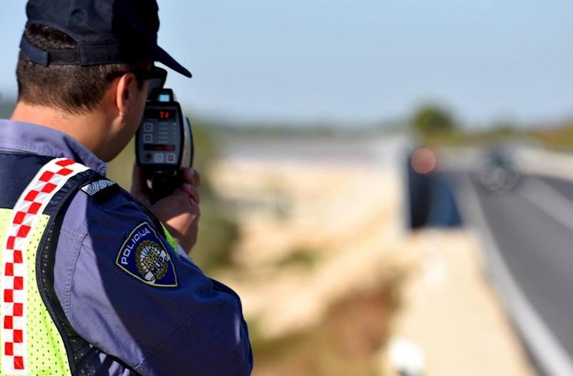 66 km/h brže od dopuštene brzine vozio u Blaškovićima u Kršanu