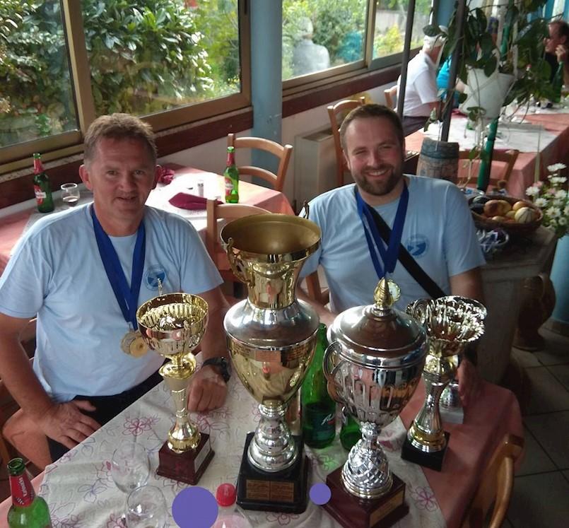 """Elvis Bažon i Elvis Barak najuspješniji u sportskom ribolovu iz usidrene brodice za seniore i U-21  """" Kup Istarske županije """" i  """" Kup Uljanika"""""""