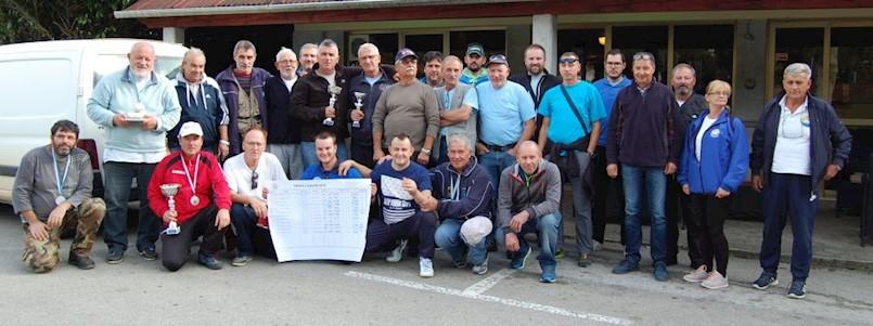 Ribiči Galeba uspješni na natjecanju u ribolovu sa usidrene brodice trofej Galeb 2019