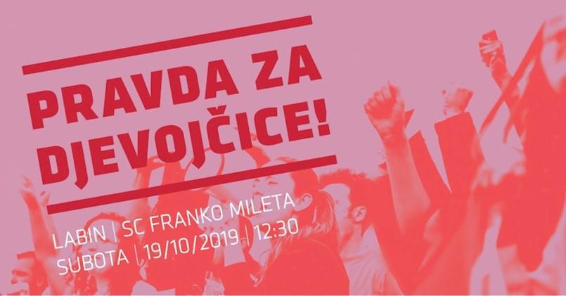 """Udruga Move me organizira prosvjed """"PRAVDA ZA DJEVOJČICE!"""""""