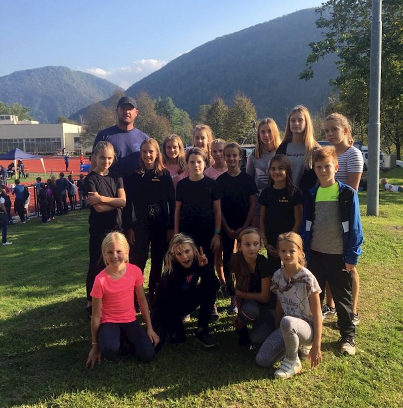 Atletičarima Albone šest medalja na mitingu u Sloveniji