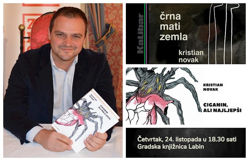 U Gradskoj knjižnici Labin u četvrtak gostuje jedan od najznačajnijih suvremenih hrvatskih pisaca Kristian Novak