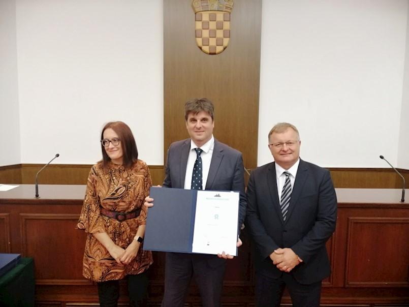 """Gradu Labinu uručena 2. nagrada Indeksa """"Gradova za jednakost"""""""