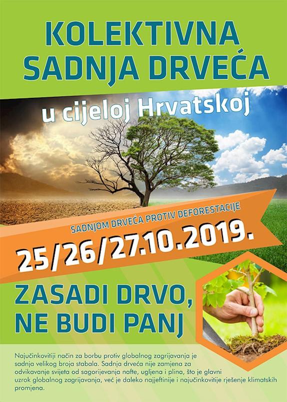 Mjesni odbor Labin Kature zajedno sa Gradom Labinom priključuje se akciji Kolektivne sadnje drveća
