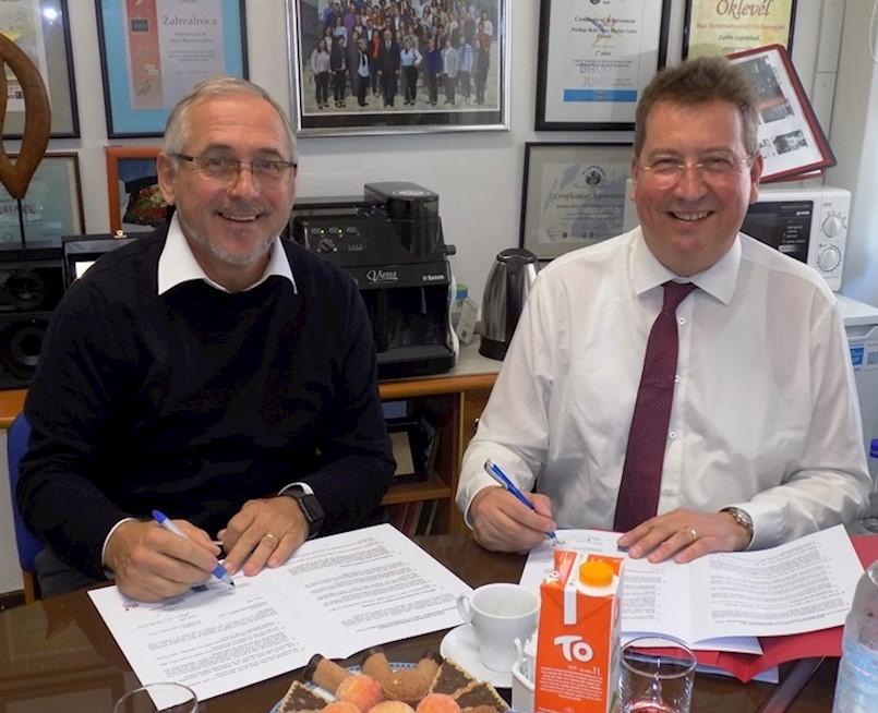 Potpisana suradnja o partnerstvu između Gimnazije Ernst-Barlach/Unna i Srednje škole Mate Blažine/Labin