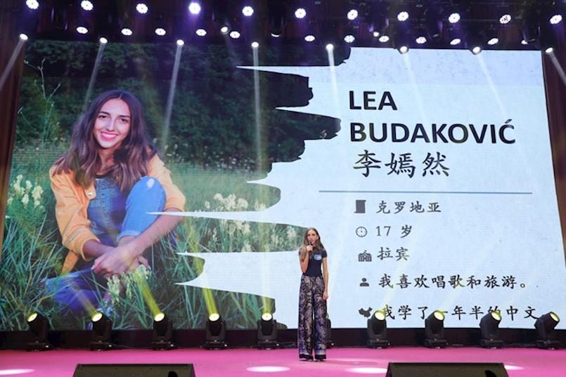 LABINJANKA LEA BUDAKOVIĆ u završnici Svjetskog natjecanj iz kineskog jezika, dajmo joj svoj glas putem mobilnih aplikacija