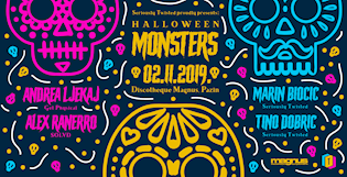Seriously Twisted pres. Halloween Monsters @ Magnus/Pazin [02/11/2019]