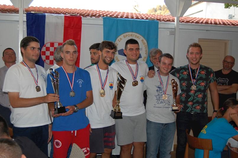 Ribiči raškog Galeba Antonio Smoković i Mate Ružić osvojili 3. mjesto na državnom natjecanju u ribolovu U21 štapom s obale