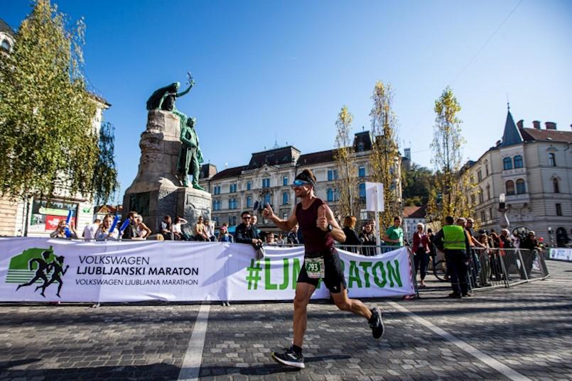Članovi Triatlon kluba Albona Extreme na triatlonu u Vrsaru i maratonu u Ljubljani