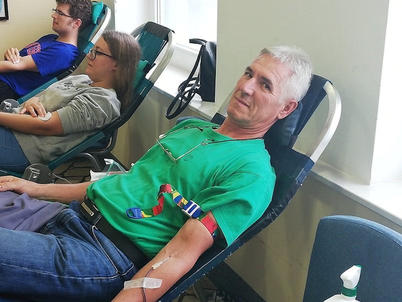 Dario Dobrić darovao krv 125 puta!