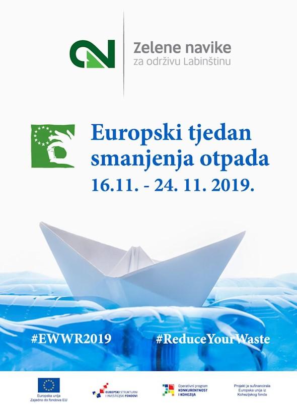 """Grad Labin priključio se inicijativi """"Europski tjedan smanjenja otpada"""""""