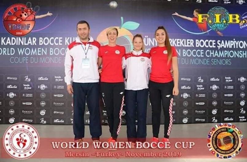 Hrvatska boćarska reprezentacija na čelu sa izbornikom Romanom Grižančićem iz Labina osvojila srebro na Svjetskom kupu u boćanju