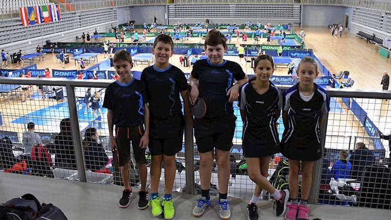 Mladi stolnotenisači Brovinja nastupili su u jakoj međunarodnoj konkurenciji na 15. Memorijalu Mirko Abramović u Varaždinu