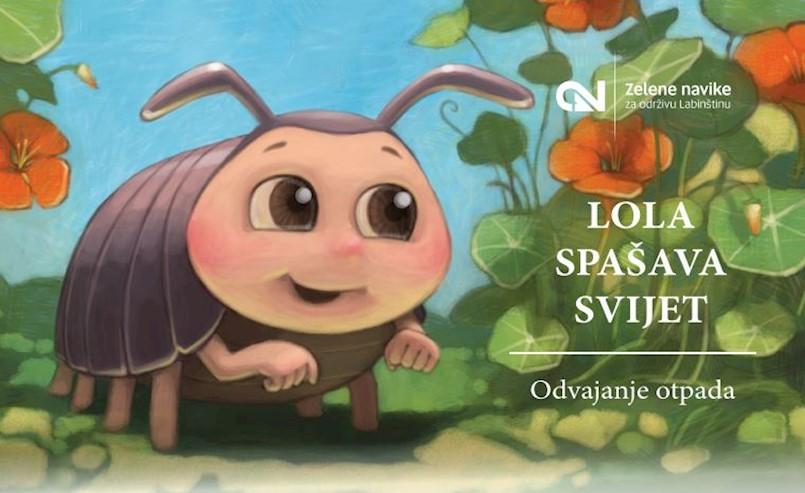 """U sklopu projekta """"Zelene navike za održivu Labinštinu"""" prezentirana slikovnica za djecu"""