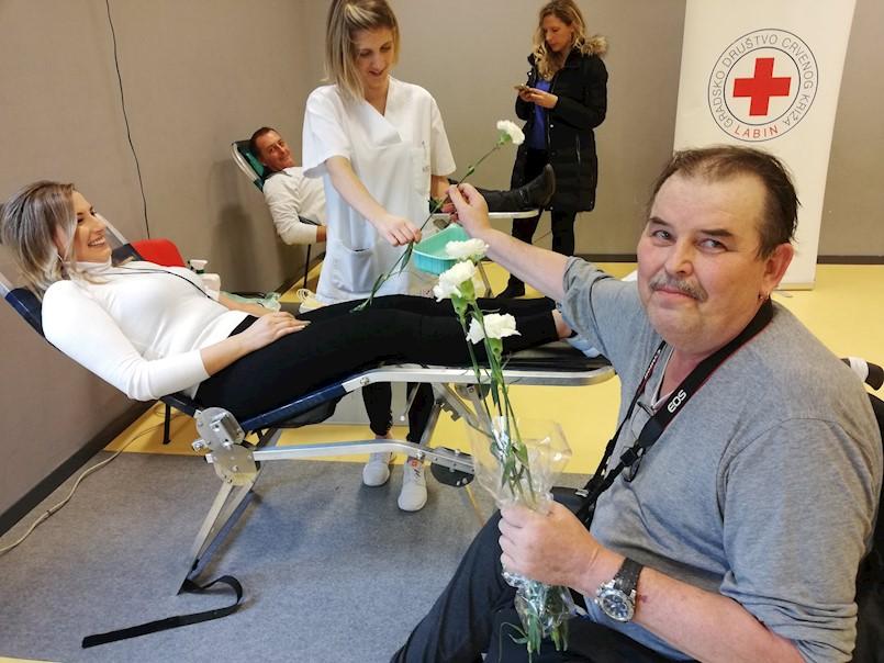Na dobrovoljnoj akciji darivanja krvi prikupljeno 60 doza krvi