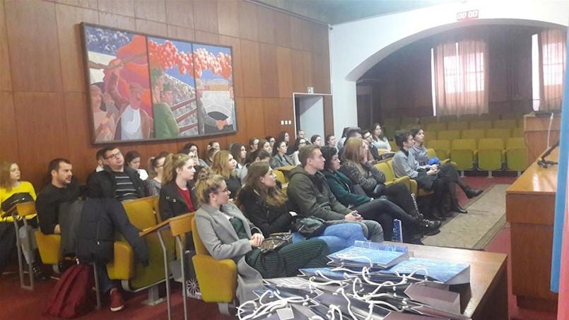 """Stručni posjet studenata Fakulteta ekonomije i turizma """"Dr. Mijo Mirković"""" Gradu Labinu"""