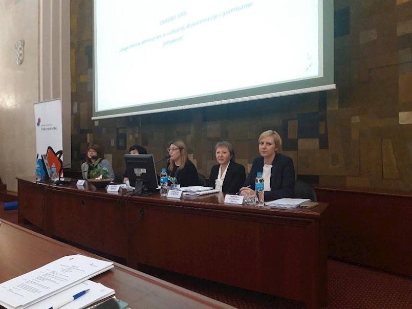 Zamjenica gradonačelnika sudjelovala na Okruglom stolu o ulozi gradova u suzbijanju diskriminacije i promicanju jednakosti